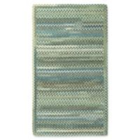 Capel Rugs Kill Devil Hill 4' x 6' Area Rug in Dark Green