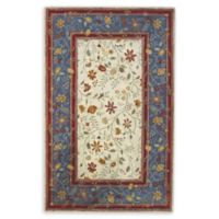 Capel Rugs Piedmont Promenade Hand-Tufted 5' x 8' Accent Rug in Red/Blue