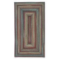 Capel Rugs Portland Braided 1'8 x 2'6 Accent Rug in Coal