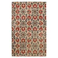 Capel Rugs Rosana 4' x 6' Hand Tufted Area Rug in Red/Multi