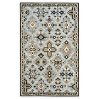Capel Rugs Mountain Home Hand-Tufted 8' x 11' Area Rug in Sky Blue