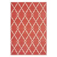 Oriental Weavers Barbados Woven Indoor/Outdoor 6'7 x 9'6 Area Rug in Pink