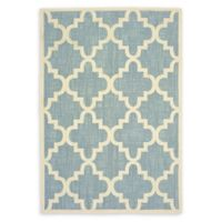 Oriental Weavers Barbados Woven 5'3 x 7'6 Area Rug in Blue