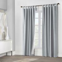 Weathermate 95-Inch Tab Top Window Curtain Panel Pair in Silver