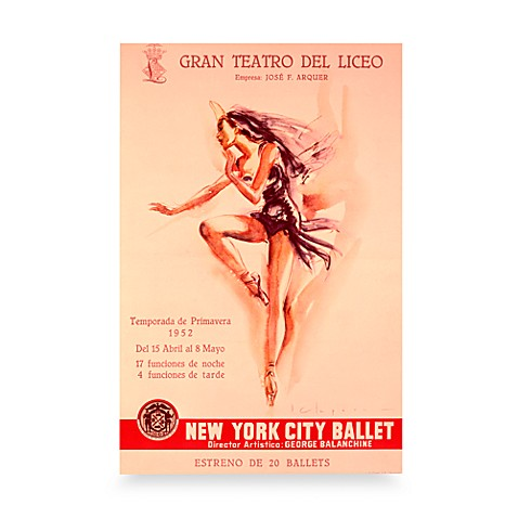 New York City Ballet Wall Poster