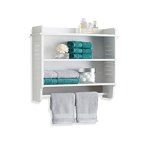 Louvre Wall Bath Cabinet Bed Bath Beyond