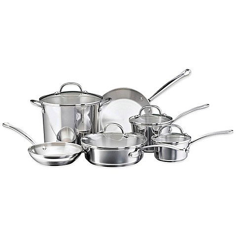 Farberware® Millennium Stainless Steel 10-Piece Cookware ...