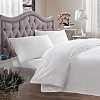 Brielle 400-Thread-Count Queen Duvet Cover in White