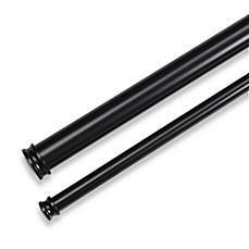 Cambria 174 Premier Complete Double Drapery Rod In Satin