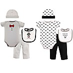 Hudson Baby® Size 0-6M 8-Piece Grow with Me Clothing Set in Grey/Black