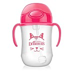 Dr. Brown's® 9 oz. Baby's First Straw Cup in Pink