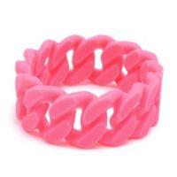 chewbeads® Stanton Link Teething Bracelet in Pink