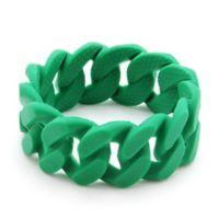 chewbeads® Stanton Link Teething Bracelet in Green