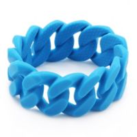 chewbeads® Stanton Link Teething Bracelet in Sea Blue