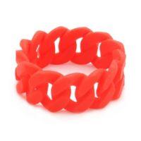 chewbeads® Stanton Link Teething Bracelet in Red