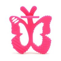chewbeads® Butterfly Chewpal in Pink