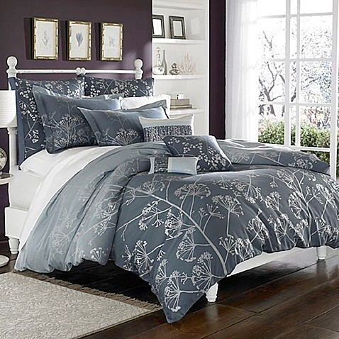 clarissa hulse cow parsley king duvet cover bed bath beyond. Black Bedroom Furniture Sets. Home Design Ideas