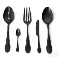 Gourmet Settings Ebony 5-Piece Hostess Set in Black