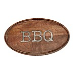Mud Pie® Circa BBQ Oval Serving Board in Brown
