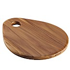 Anolon® Pantryware 12.5-Inch x 10-Inch Teakwood Teardrop Cutting Board