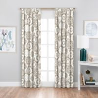 SolarShield® Sammi 84-Inch Rod Pocket Blackout Window Curtain Panel in Neutral