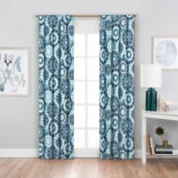 SolarShield® Sammi 63-Inch Rod Pocket Blackout Window Curtain Panel in Pool