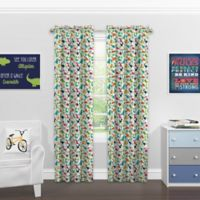 Solarshield® Kids Dinoland 63-Inch Rod Pocket Blackout Window Curtain Panel in Green
