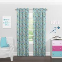Solarshield® Kids Fintastic 63-Inch Rod Pocket Blackout Window Curtain Panel in Blue