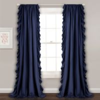 Lush Décor Reyna 84-Inch Rod Pocket Window Curtain Panel Pair