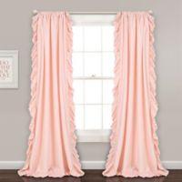Lush Décor Reyna 84-Inch Rod Pocket Window Curtain Panel Pair