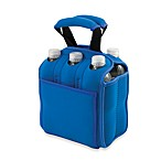Picnic Time® Six Pack Insulated Beverage Carrier in Blue