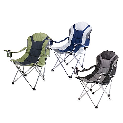 Picnic Time 174 Reclining Camping Chair Bed Bath Amp Beyond