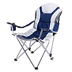 Picnic Time® Reclining Camping Chair in Blue