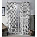 Muse 84-Inch Rod Pocket Window Curtain Panel Pair in Silver