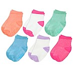 Capelli New York Size 3-12M 6-Pack Crew Socks