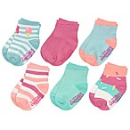 Capelli New York Size 3-12M Ice Cream Party Crew Socks
