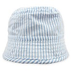 Toby™ Seersucker Bucket Hat in Blue/White