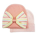 Toby™ NYGB 2-Pack Take Me Home Bow Hats