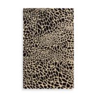 Nourison Skyland Cheetah 3-Foot 6-Inch x 5-Foot 6-Inch Area Rug