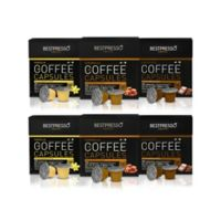 Bestpresso 120-Count Flavor Variety Pack Nespresso® Compatible Gourmet Coffee Capsules