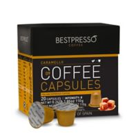 Bestpresso 40-Count Caramello Pack Nespresso® Compatible Gourmet Coffee Capsules