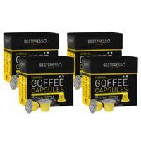 Bestpresso 80-Count Intenso Nespresso® Compatible Gourmet Coffee Capsules
