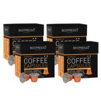 Bestpresso 80-Count Ristretto Nespresso® Compatible Gourmet Coffee Capsules