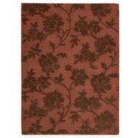 "Nourison Skyland Rust and Brown 5' 6"" x 7' 5"" Room Size Rug"