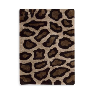 buy leopard print rugs from bed bath beyond