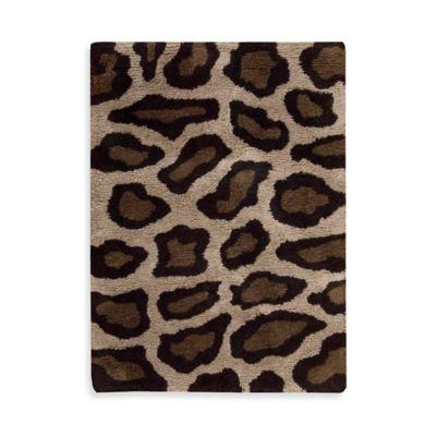 Nourison Splendor 2 Foot 3 Inch x 3 Foot 9 Inch Leopard. Buy Leopard Print Area Rug from Bed Bath   Beyond