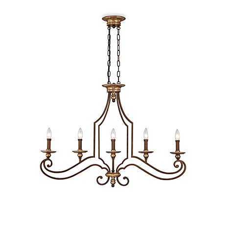 Quoizel Jillian Island Chandelier with 5-Lights