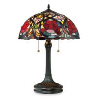 Quoizel® Larissa Tiffany Style Table Lamp