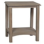Stylecraft Rectangular Accent Table in Distressed Grey