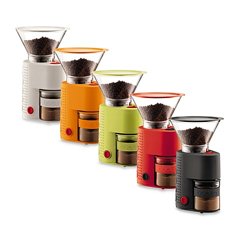 bodum bistro burr electric grinder with presso canister bed bath beyond. Black Bedroom Furniture Sets. Home Design Ideas